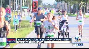 12th annual Rooney's 5k run/walk Family Event [Video]