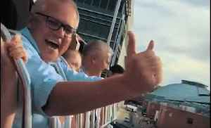 Scott Morrison Breaks From Campaigning to Enjoy Royal Easter Show With Family [Video]