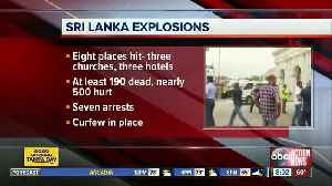 Sri Lanka attacks: More than 200 dead in bombings, including 'several' Americans [Video]