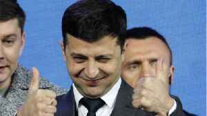 Comedian Becomes Ukraine's President [Video]