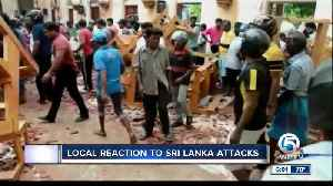 Local reaction to Sri Lanka attacks [Video]