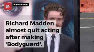 Richard Madden Had A Mental Block About Acting [Video]