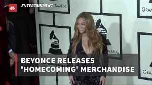 New Beyonce Fashion Merchandise Is Out [Video]