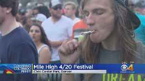 Thousands Pile Into Civic Center Park For 4/20 Fest [Video]