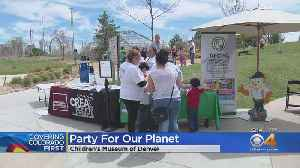 Children Celebrate Earth Day Early At Children's Museum [Video]