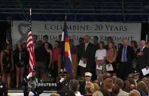 Ceremony marks 20 years since Columbine massacre