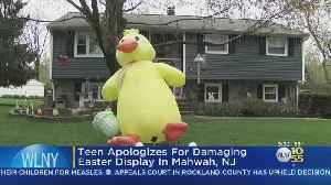 Teen Apologies And Pays For Destroying Easter Display [Video]