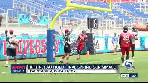 FAU Football's final spring practice [Video]