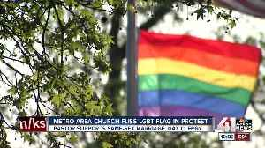 Asbury United Methodist shows its support for LGBTQ community amid controversy [Video]