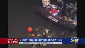 Dive Teams Search For Father, Son In Apparent Drowning In Fort Worth Quarry [Video]
