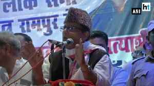 Being treated as anti-national Azam Khan at Rampur rally [Video]