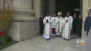 Pope Francis Celebrates Mass In Saint Peter's Square With Group Of Worshipers [Video]