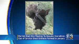 Mariner East One Pipeline To Resume Operations Monday [Video]