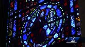 Easter - St. Cecelia Cathedral's stained glass windows [Video]