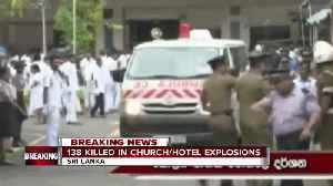 News video: Sri Lanka blasts: More than 200 dead in church and hotel bombings across country