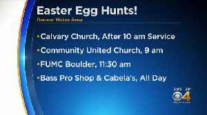 Easter Egg Hunts Planned Across Metro Area [Video]