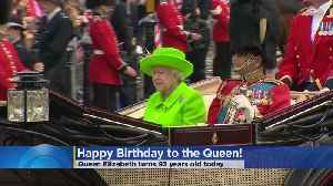 News video: Queen Elizabeth Celebrates 93rd Birthday