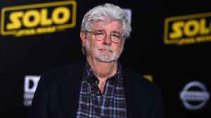 George Lucas Visits The Set Of 'The Mandalorian' [Video]