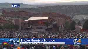 Thousands Pack Red Rocks Amphitheatre For Gorgeous Easter Sunrise Service [Video]