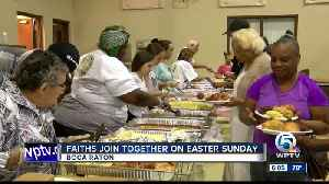 Faiths join together on Easter Sunday [Video]
