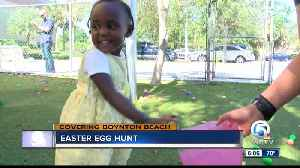 Easter Egg Hunt held in Boynton Beach [Video]