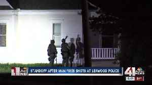 Man in custody after allegedly shooting at Leawood police [Video]
