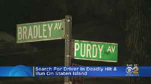 89-Year-Old Woman Killed By Hit-And-Run Driver In Staten Island [Video]