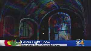 Easter Celebrated With Laser Show [Video]