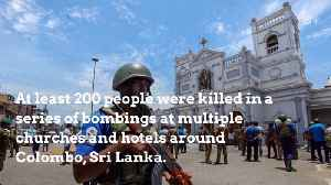 Bombing Kills Hundreds In Sri Lanka On Easter Sunday [Video]