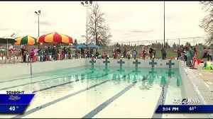 Spokane Parks and Rec fills Shadle pool with trout to kick off fishing season [Video]