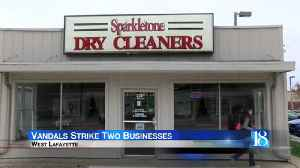 Vandals strike two West Lafayette businesses [Video]