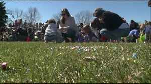 Altra gives area kids an early Easter Egg Hunt [Video]