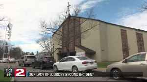 Our lady of Lourdes disturbance