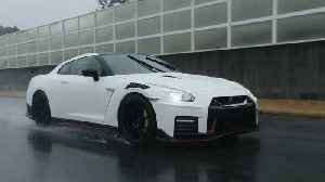 2020 Nissan GT-R NISMO On the Track Driving Demo [Video]