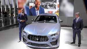 Maserati reveals One of one presonalized Levante SUV custom crafted for two-time NBA Champion Ray Allen inspired by the city of  [Video]