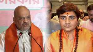 Amit Shah defends Sadhvi Pragya Thakur, Nominating her is a right decision | Oneindia News [Video]