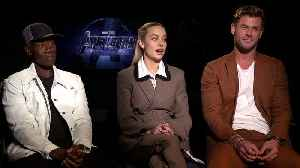 Chris Hemsworth, Brie Larson and Don Cheadle Chat Up 'Avengers: Endgame' [Video]