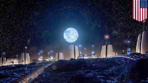Human Moon village plans released by design firm [Video]