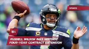 QB Russell Wilson Signs A Massive Money Making Deal [Video]