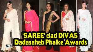 'SAREE' clad DIVAS steals the show | Dadasaheb Phalke Awards 2019 [Video]