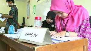 News video: Election officials die from exhaustion in Indonesian Presidential elections