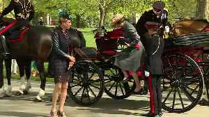 Queen's 93rd birthday marked with gun salutes [Video]
