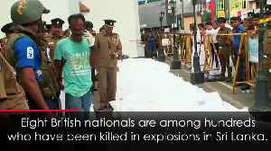 News video: Eight British nationals are among dead in Sri Lanka