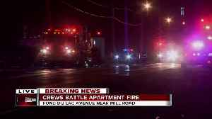BREAKING: 1 person injured in apartment fire on Milwaukee's northwest side [Video]