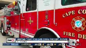 Future of Cape Coral Fire Department to be discussed at meeting [Video]