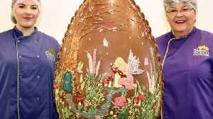 Cracking Job! Meet The Unsung Heroes Of Easter Who Spent Two Days Making Six Stone Easter Egg [Video]
