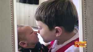 Brotherly Love for Our Picture of the Month [Video]