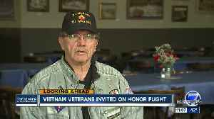 Denver man one of first Vietnam veterans to take honor flight [Video]