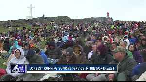 Easter sunrise service at Lizard Butte is a family tradition enjoyed by so many people [Video]