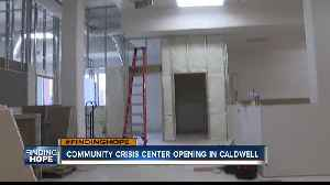 Community Crisis Center to open its doors Monday [Video]